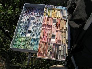 ArtBin pastel container.
