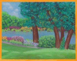 calendar event - exhibit- Willow Pond