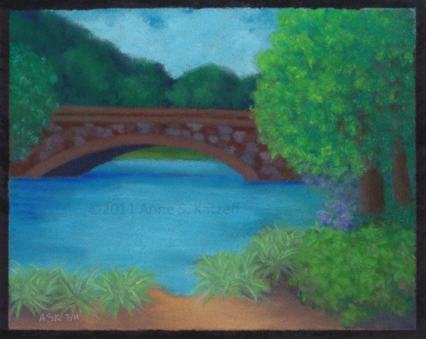 Stone Bridge, Watertown (Bike 'n Paint)