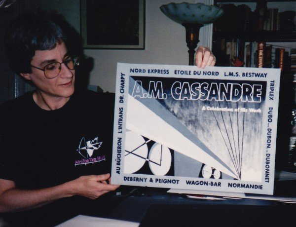 1993 cassandre poster by anne