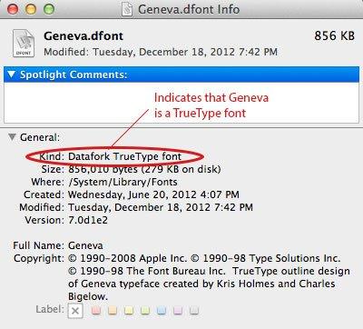 Choosing the Correct Font Format