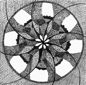 Mandala ©2003 Anne S. Katzeff