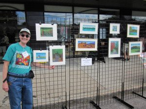 Anne at Belmont Artwalk
