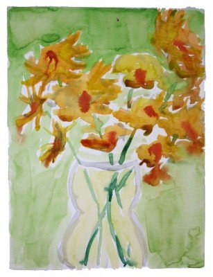 My watercolor still life painting