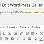 How to Create and Edit WordPress Galleries