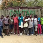 Students with their new sunshades, posing with style, at #Daktari Bush School!