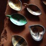 Wood bowls at Marula Market
