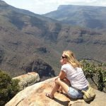 Leslie at Blyde River Canyon