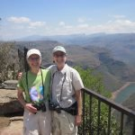 Peggy and Anne, at Blyde River Canyon