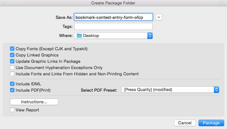 Preflighting and Packaging InDesign Files