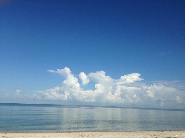 Clouds at Vanderbilt Beach