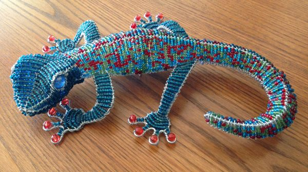 gecko-beaded
