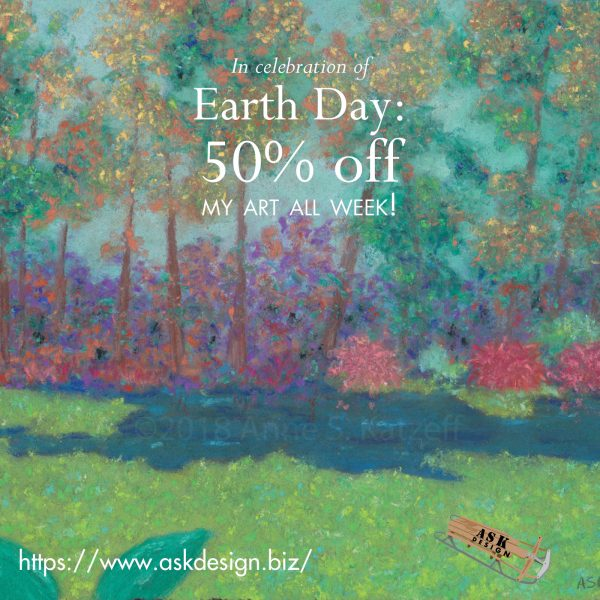 event - Earth Day sale