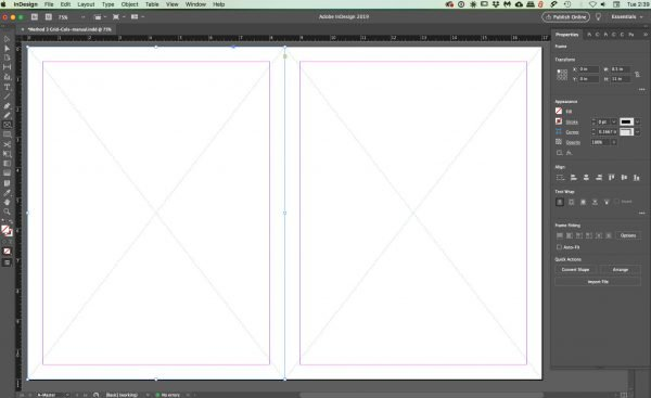 spread-2-boxes for InDesign grids