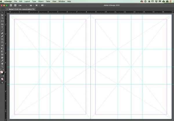 spread-3boxes-grid for InDesign grids