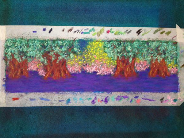art voice - Lettuce Lake - Finished Work | Pastel © 2019 Anne S. Katzeff