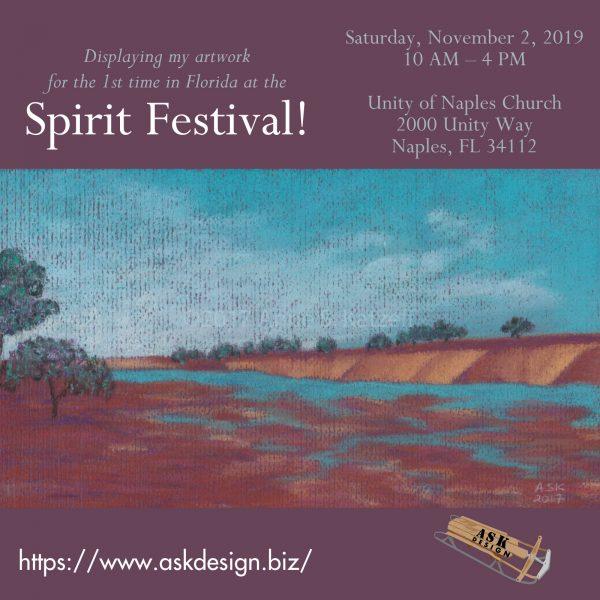 calendar event - Spirit Festival 2019 announcement