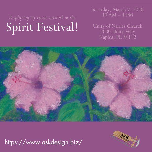 upcoming event - Spirit Festival 2020 announcement