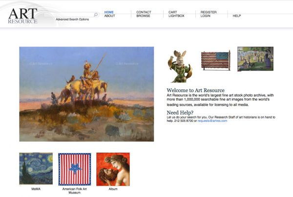 art resource home page