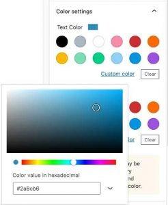 Block Color Picker