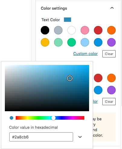 Block Color Picker