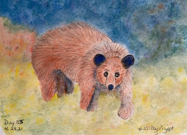100DayProject - day 83 - bear